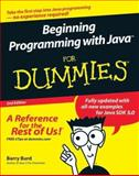 Beginning Programming with Java for Dummies, Barry Burd, 0764588745