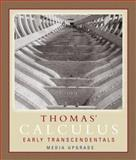 Thomas' Calculus Early Transcendentals : Part One: Media Upgrade, Thomas, George Brinton, 0321498747
