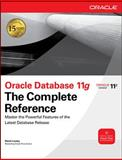 Oracle Database 11g the Complete Reference, Loney, Kevin, 0071598758