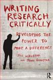 Writing Research Critically, Schostak, Jill and Schostak, John, 0415598753