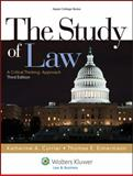 The Study of Law : A Critical Thinking Approach, Currier, Katherine A. and Eimermann, Thomas E., 1454808756