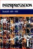 Isaiah 40-66, Paul D. Hanson, 0664238750