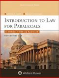 Introduction to Law for Paralegals 9781454838760