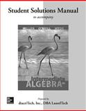 Student Solutions Manual for Intermediate Algebra, Miller, Julie and O'Neill, Molly, 0077548760