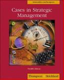 Cases in Strategic Management with PowerWeb and Concept/Case TUTOR Cards 9780072518771
