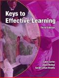 Keys to Effective Learning, Carter, Carol and Bishop, Joyce, 0130618772