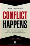 What to Do When Conflict Happens, Ventura, Steve, 1885228775