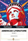 American Literature, Volume II with NEW MyLiteratureLab -- Access Card Package, Cain, William E. and McDermott, Alice, 0134038770