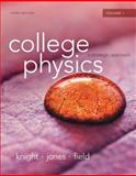 College Physics : A Strategic Approach Volume 1 (Chs. 1-16), Knight, Randall D. and Jones, Brian, 0321908775