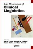 Handbook of Clinical Linguistics, , 1444338773