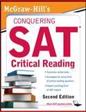 McGraw-Hill's Conquering SAT Critical Reading, Nicholas Falletta, 0071748784