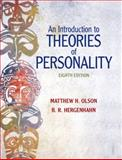 An Introduction to Theories of Personality, Hergenhahn, B. R. and Olson, Matthew H., 0205798780