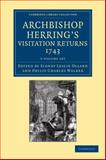 Archbishop Herring's Visitation Returns, 1743 5 Volume Set, , 1108058787