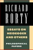 Essays on Heidegger and Others 9780521358781
