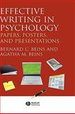 Effective Writing in Psychology 9781405158787