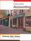College Accounting, McQuaig, Douglas and Bille, Patricia, 1439038783