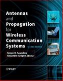 Antennas and Propagation for Wireless Communication Systems, Saunders, Simon R. and Aragón-Zavala, Alejandro, 0470848790
