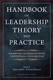 Handbook of Leadership Theory and Practice, , 1422138798