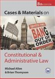 Cases and Materials on Constitutional and Administrative Law, Thompson, Brian and Allen, Michael, 0199278792