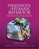 Dimensions of Human Behavior : Person and Environment, Hutchison, Elizabeth D., 1412988799
