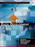 Professional Excel Development : The Definitive Guide to Developing Applications Using Microsoft Excel, VBA, and . NET, Bullen, Stephen and Bovey, Rob, 0321508793