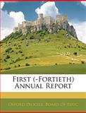 First Annual Report, , 114375879X