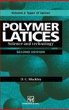 Polymer Latices Vol. 2 : Science and Technology - Types of Latices, Blackley, D. C., 0412628805