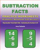 Subtraction Facts Practice Worksheets Arithmetic Workbook with Answers, Anne Fairbanks, 1468138804