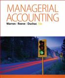 Managerial Accounting, Warren, Carl S. and Reeve, James M., 1285868803
