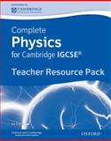 Complete Physics for Cambridge IGCSE, Stephen Pople and Ian Collins, 019913880X