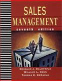 Sales Management : Concepts and Cases, Dalrymple, Douglas J. and Cron, William L., 0471388807