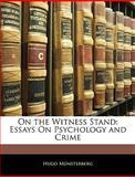On the Witness Stand, Hugo Münsterberg, 1141818809