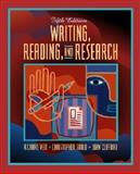Writing, Reading, and Research, Veit, Richard and Gould, Christopher, 0205318819
