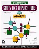 Developing SAP's R/3 Applications with ABAP/4, Kretschmer, Rudiger and Weiss, Wolfgang, 078211881X