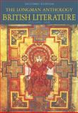 The Longman Anthology of British Literature, Volumes 1A, 1B and 1C Package : Middle Ages to the Restoration and the 18th Century, Damrosch, David and Baswell, Christopher, 0321128818