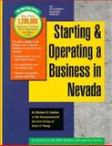 Starting and Operating a Business in Nevada, Michael D. Jenkins and Ernst and Young Staff, 0916378810