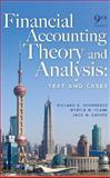 Financial Accounting Theory and Analysis : Text and Cases, Schroeder, Richard G. and Clark, Myrtle W., 047012881X