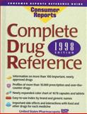 Complete Drug Reference 1998, U. S. Pharmacopeia Staff, 0890438811