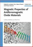 Magnetic Properties of Antiferromagnetic Oxide Materials, , 3527408819