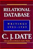 Relational Database Writings, 1985-1989, Date, Chris J., 0201508818