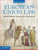 European Union Law : Text and Materials, Chalmers, Damian and Davies, Gareth, 1107038820