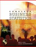 Complete Business Statistics, Aczel, Amir D. and Sounderpandian, Jayavel, 0072868821