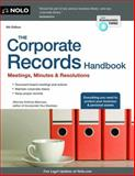 The Corporate Records Handbook, Attorney, Anthony Mancuso, 1413318827