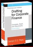 Drafting for Corporate Finance, Carolyn E. C. Paris, 140240882X