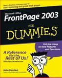 Front Page 2003 for Dummies®, Asha Dornfest, 0764538829