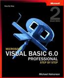 Microsoft Visual Basic 6.0 Professional Step by Step, Halvorson, Michael, 0735618836