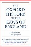 The Laws of England, 1820-1914, Cornish, William and Anderson, J. Stuart, 019925883X