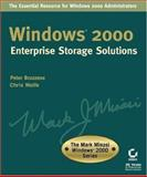 Windows 2000 Enterprise Storage Solutions, Peter Bruzzese, 0782128831