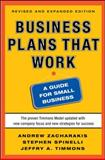 Business Plans That Work : A Guide for Small Business, Timmons, Jeffry A. and Zacharakis, Andrew, 0071748830
