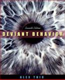 Deviant Behavior, Thio, Alex, 0205388833